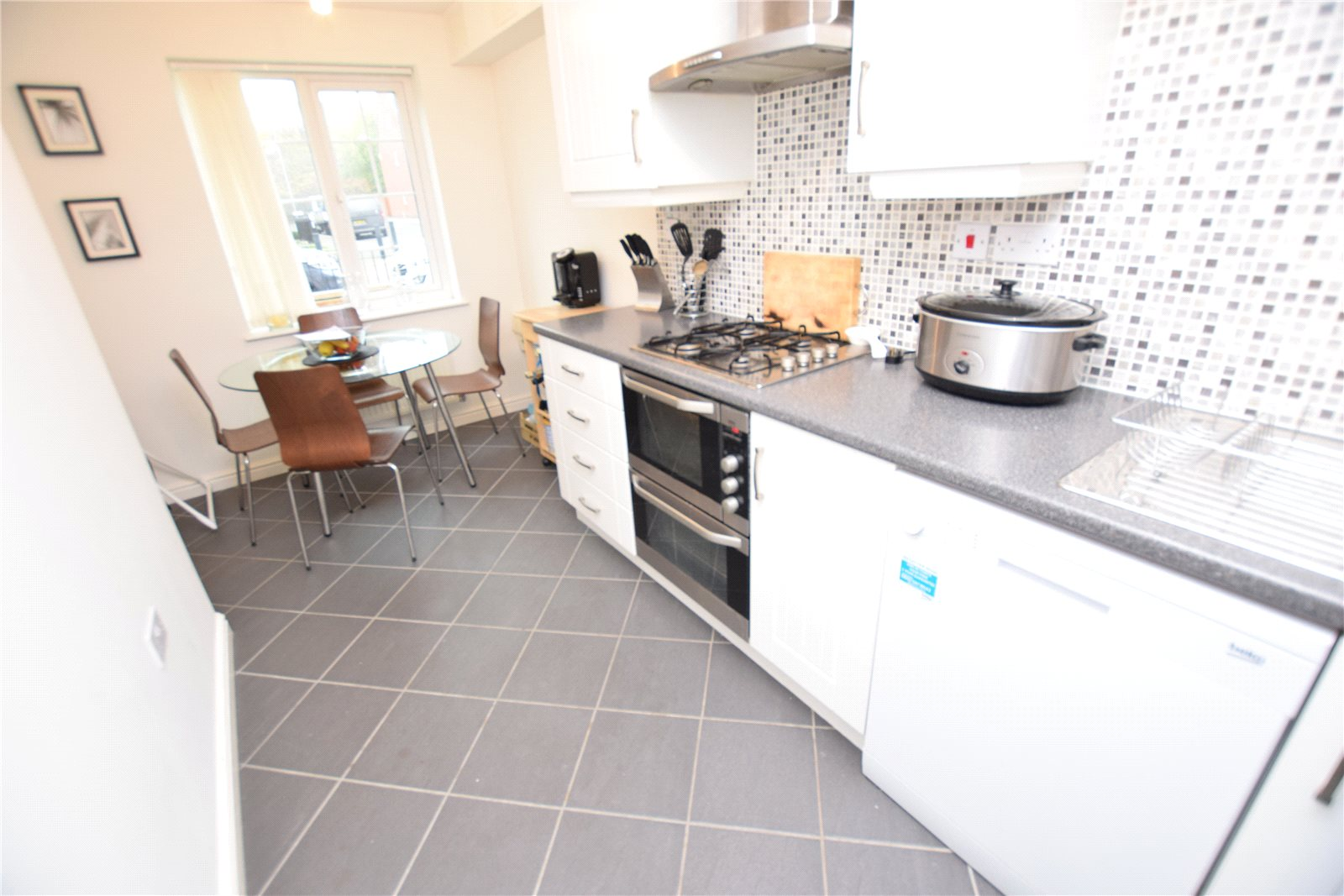 Property for sale in Wortley, interior modern fitted kitchen