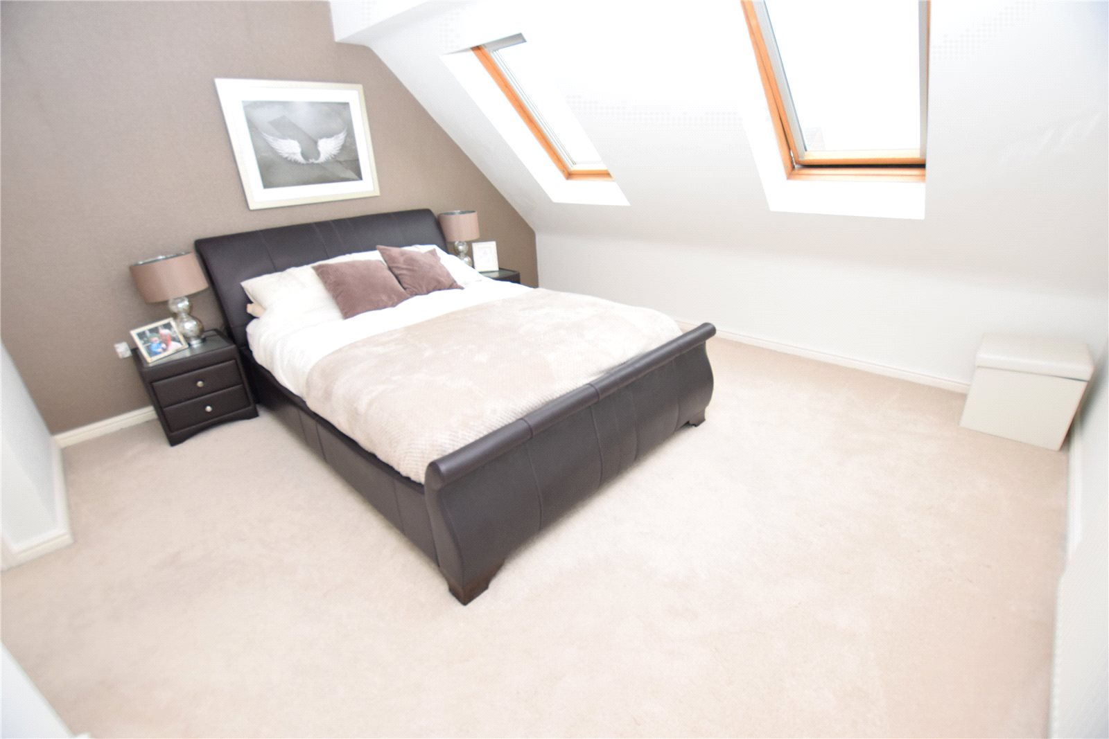 property for sale in Wortley, interior double bedroom