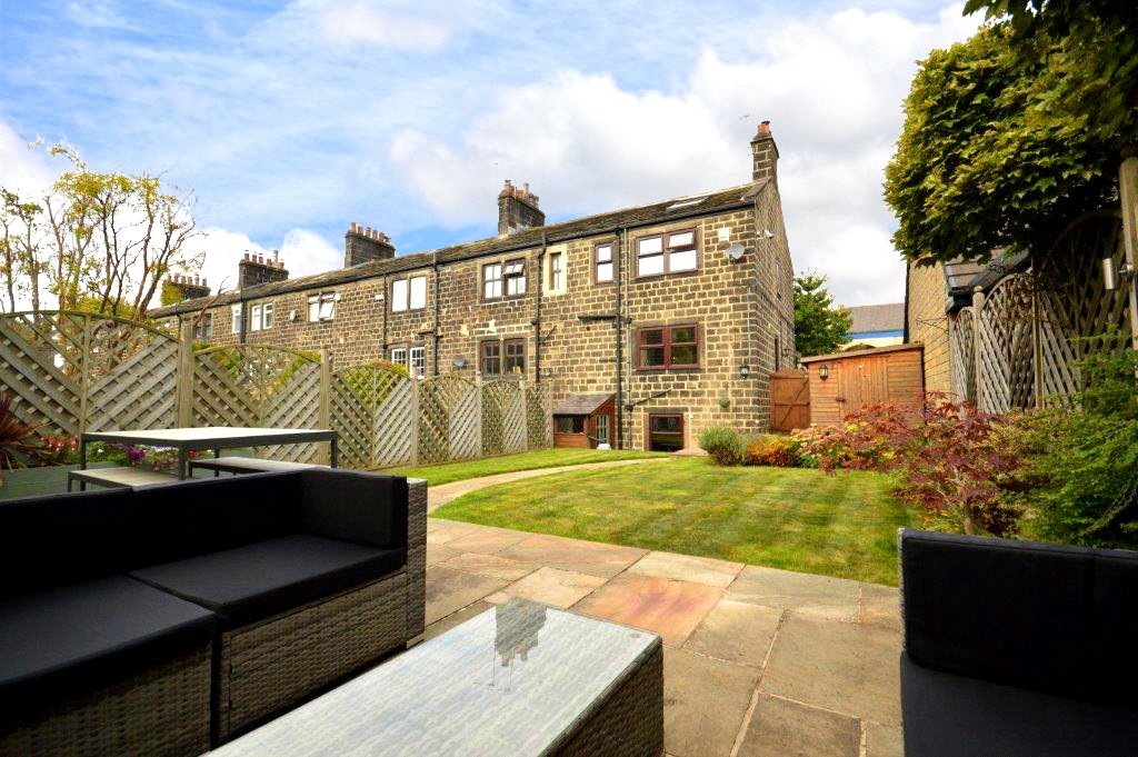 property for sale in Horsforth, exterior rear home and garden