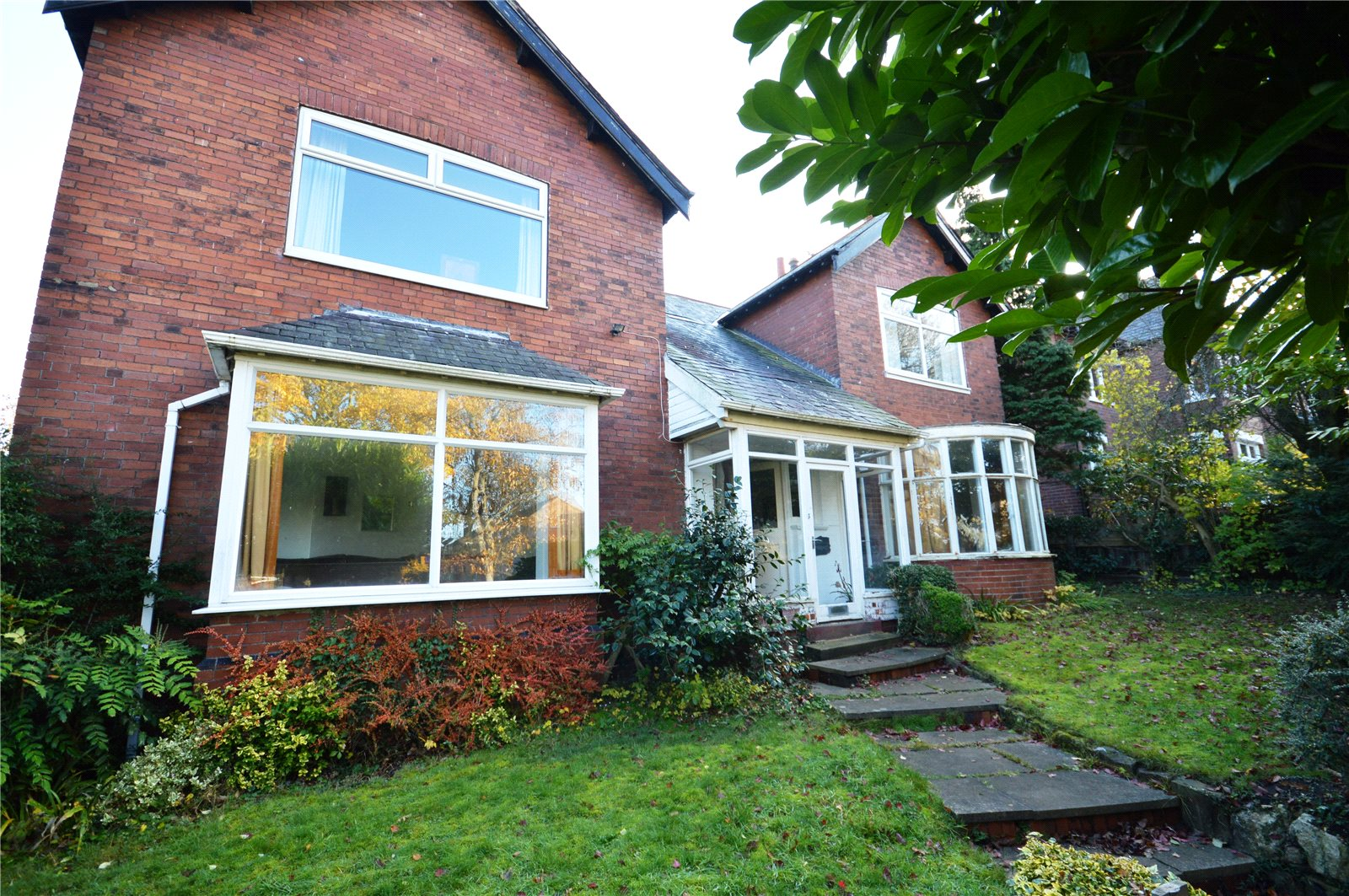property for sale in Sandal, exterior of detached family home