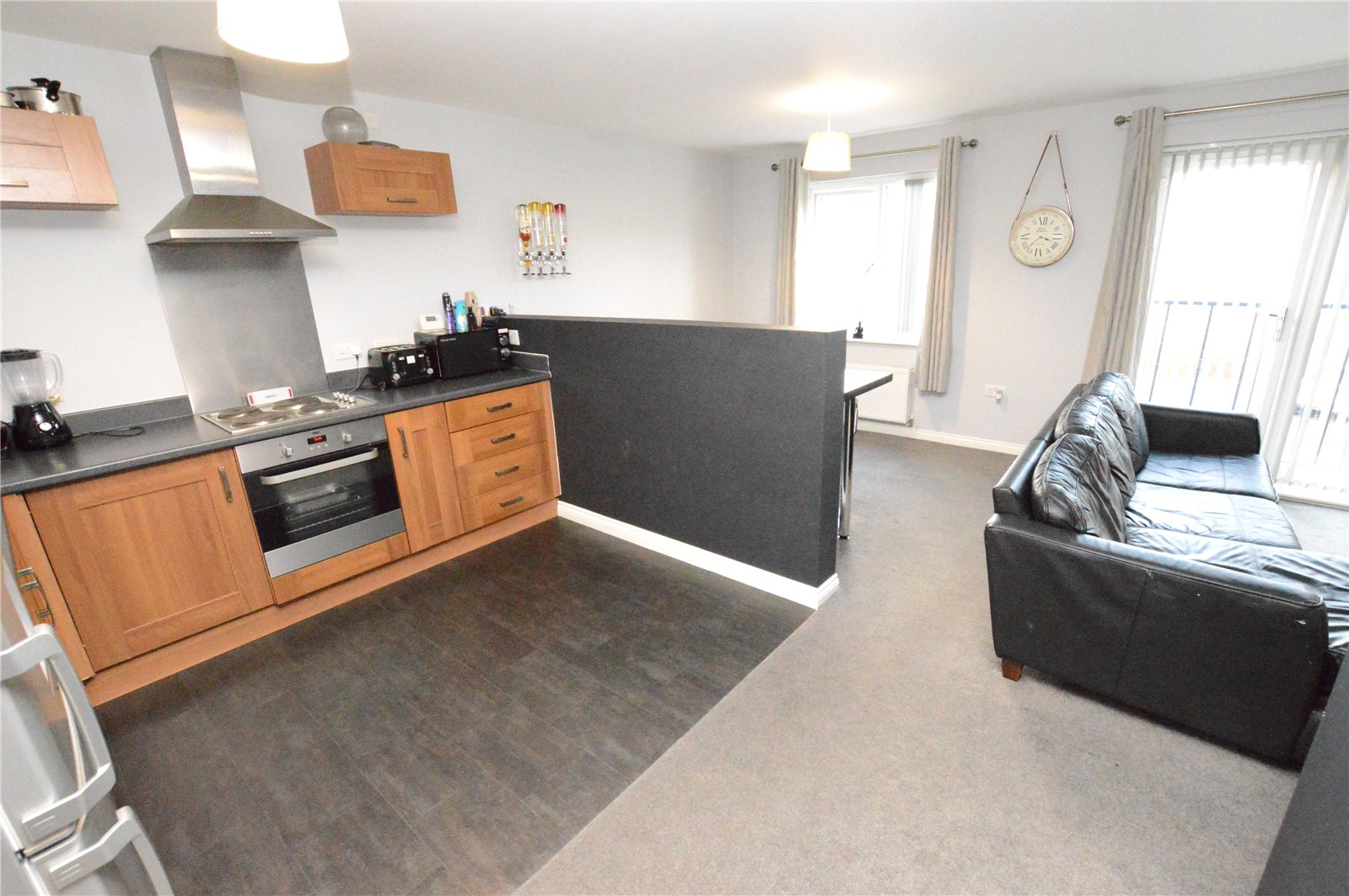 property for sale in Crossgates, interior open plan kitchen