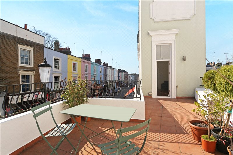 Maisonette to rent in Notting Hill - Portobello Road, London, W11