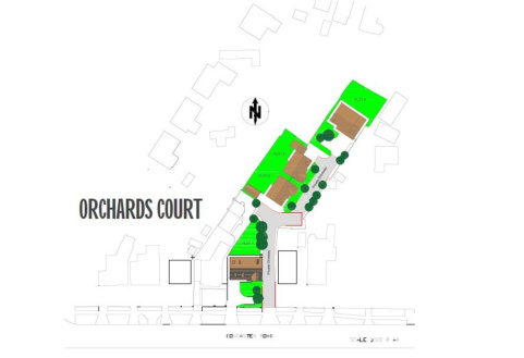 New Homes, Orchard Court,Hatfield