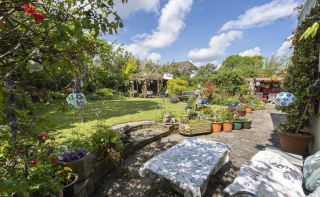 A wonderful family home with sunny rear garden