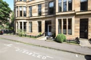 View of Saltoun Street, Dowanhill, Glasgow, G12