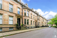 View of Princes Terrace, Dowanhill, Glasgow, G12
