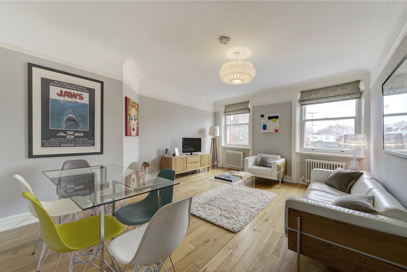Flat/apartment for sale in Kensington - Campden Hill Mansions, Edge Street, London, W8