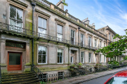 View of Ruskin Terrace, Botanics, Glasgow, G12