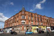 View of Dumbarton Road, Partick, G11