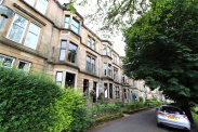 View of Hampden Terrace, Mount Florida, Glasgow, G42