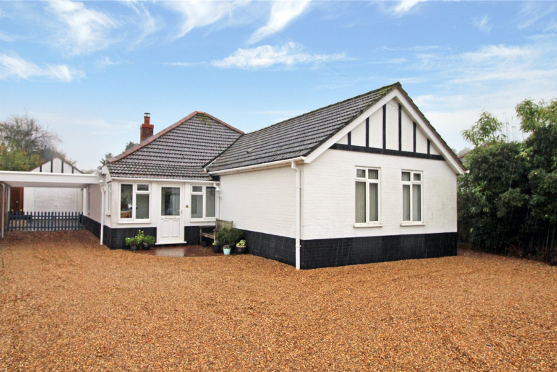 Bungalow for sale in Poringland - Brickle Road, Stoke Holy Cross, Norwich, NR14