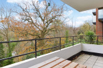 Large Private Balcony And Leafy Outlook.  2