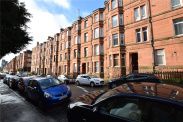 View of Apsley Street, Partick, Glasgow, G11