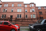 View of Caird Drive, Partick, G11