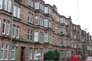 View of Mount Stuart Street, Shawlands, G41