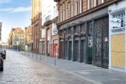 View of Candleriggs, Merchant City, Glasgow, G1