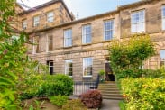 View of Lynedoch Place, Edinburgh, EH4