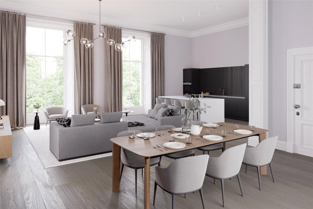 1 Bedroom Apartment For Sale In Unit 7 Randolph Crescent Edinburgh Midlothian Eh3 Rettie Co