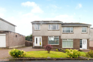 View of Lochnagar Drive, Bearsden, Glasgow, G61