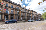 View of Buckingham Terrace, Edinburgh, Midlothian, EH4