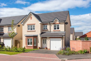 View of Blackadder Crescent, North Berwick, East Lothian, EH39