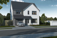 View of Plot 2, The Tay, Glenluie Green, Ardler Road, Meigle, Blairgowrie, PH12