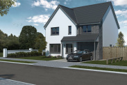 View of Plot 15, The Forth, Glenluie Green, Ardler Road, Meigle, Blairgowrie, PH12