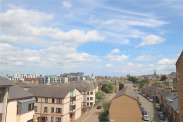 View of Polwarth Crescent, Edinburgh, Midlothian, EH11