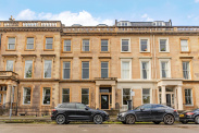 View of Woodside Terrace, Park, Glasgow, G3