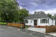 View of Braemar Crescent, Bearsden, Glasgow, G61