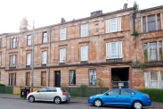 View of Queen Mary Avenue, Langside, Glasgow, G42