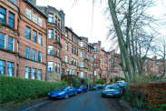 View of Camphill Avenue, Langside, G41