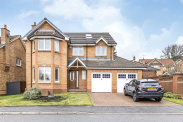 View of Branklyn Crescent, Anniesland, Glasgow, G13