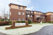 View of Crathes Court, Hazelden Gardens, Glasgow, G44
