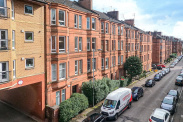 View of Apsley Street, Thornwood, Glasgow, G11