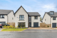 View of Rose Dene Drive, Bearsden, Glasgow, G61