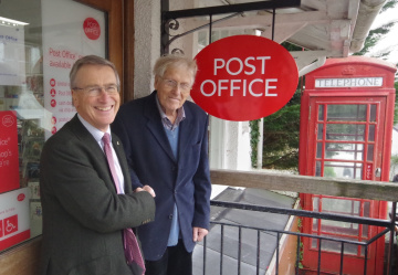 Marchand Petit supporting local post offices