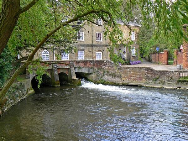 Fakenham river Wensum