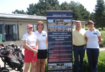 Soldiers' Charity Day at Dainton Golf Course