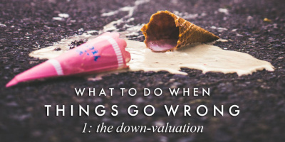 When things go wrong: The down-valuation