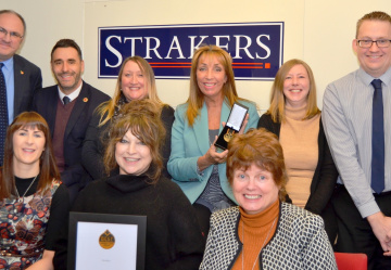 Strakers Win Lettings Award