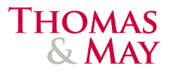 Thomas & May logo
