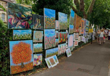 Art of the matter! Brixton's open-air arts fair set to be a big draw…