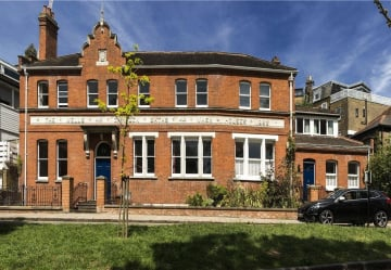 Historical Hampstead bath and wash house for sale