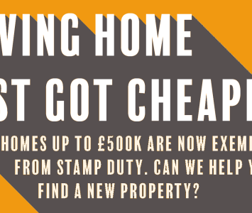 Stamp Duty Good News!